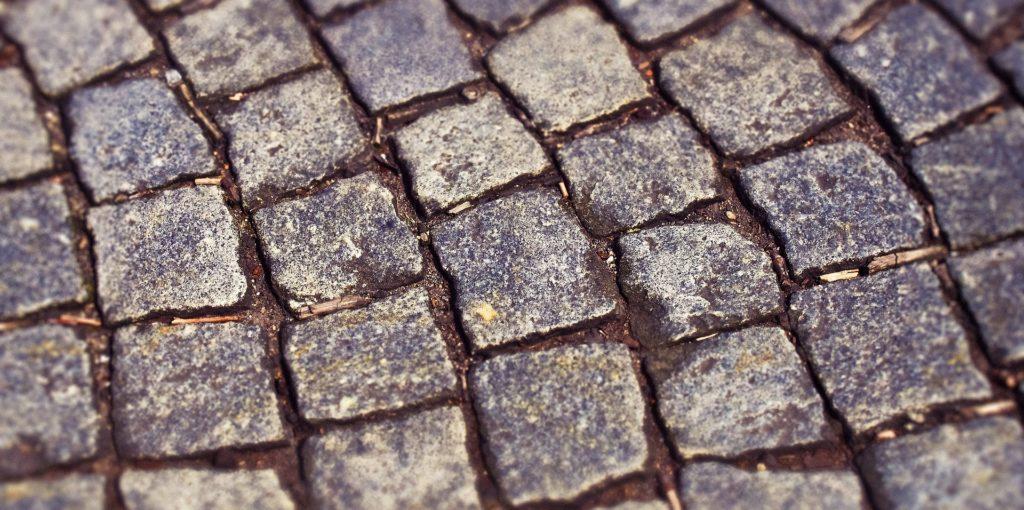 cobblestone pathway